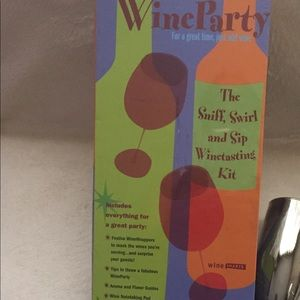 Other - NWOT Wine Tasting Kit